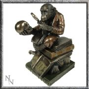 Darwinism of Evolutionary Theory Stunning Bronze Effect Figurine